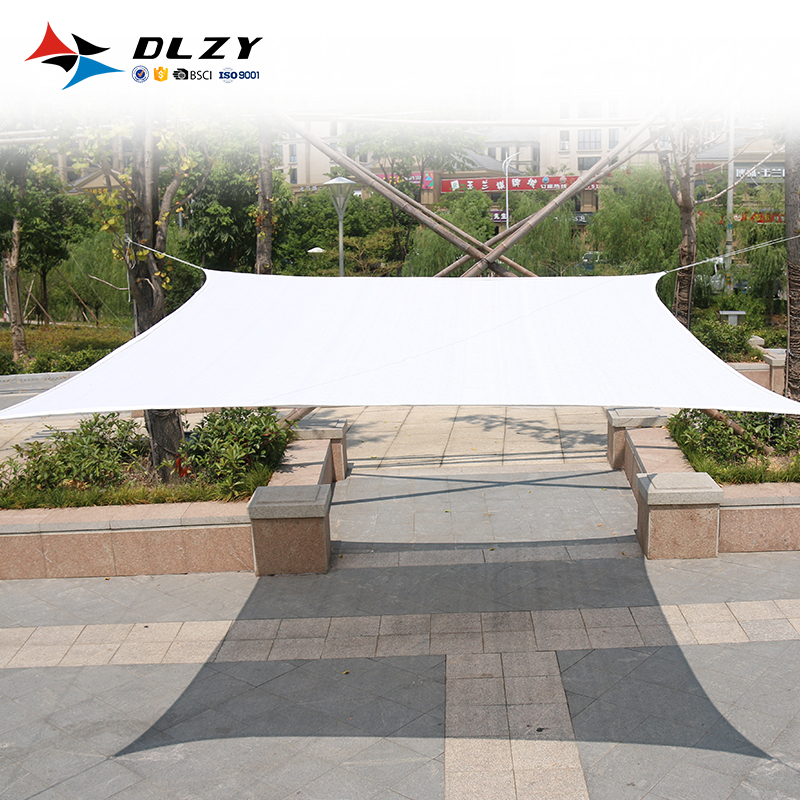 2018 latest Outdoor 5x5m Rectangle Waterproof <strong>sun</strong> shade sail for wholesale