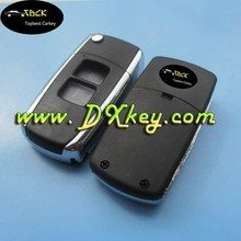 universal flip key 2 buttons car key cover for Toyota key blank