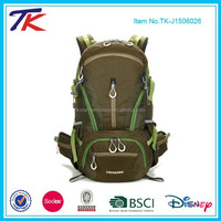 Large Capacity Ergonomic Hiking Backpack 40L Bag with Rain Cover