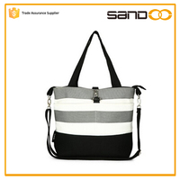 alibaba China wholesale cotton canvas tote adult baby diaper bag