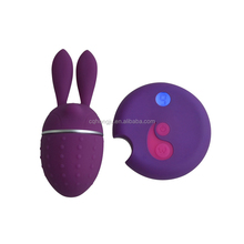 Hot Sale China Online Shopping Electronic Remote Control Silicone Magic Rabbit Vibrator Sex Toy