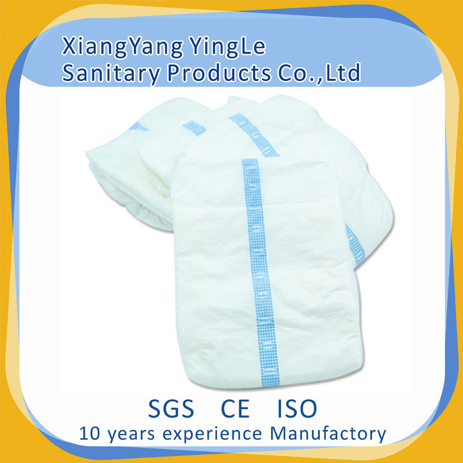 Soft Breathable PE Film Disposable adult Diaper