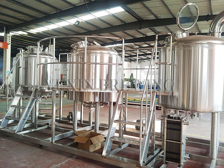 1000l 2000l beer factory equipment for sale
