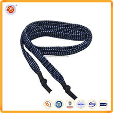 Special silicone tip design custom shoe laces for garment accessories