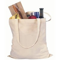 large blank white diy grocery market shopping cotton bag with long handle