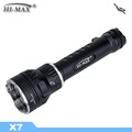 HI-MAX X 7 3000 Lumen Power LED Hunting Torch Light