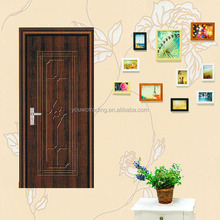 wrought iron steel door,pvc steel inner door design