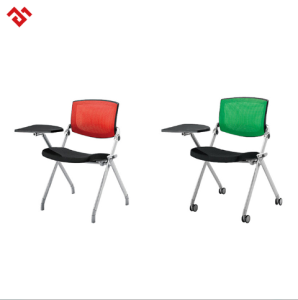 High Quality Student Classroom School Chair Study Chair with Writing Pad