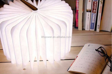 Smart rechargeable LED table book lamp/lanterm for new year decoration