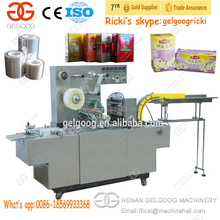 3D Paper Cellophane Wrapping Machine for Cards Tea Box Cellophane Packing Machine