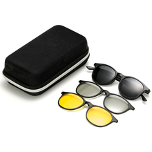 DLCTR2245 3D Sunglasses packaging set Driving Night Vision Glasses