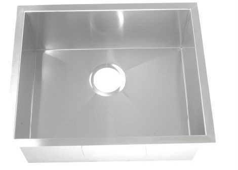 Fashional designed stainless steel single bowl portable sink unit