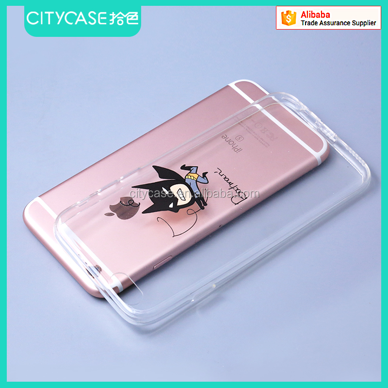 city&case silicone phone case for 4.7 inch mobile phone case for iPhone