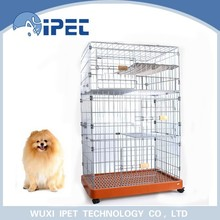 Ipet solid display wire mesh pet cage for cats