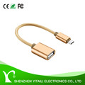 USB 2.0 A to Micro USB Adapter OTG Cable for Android Phone Or Tablet PC