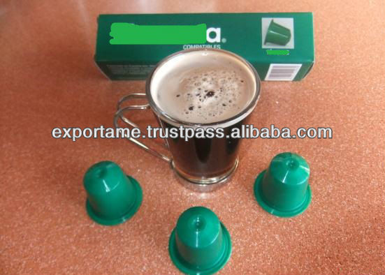 compatible nespresso coffee capsules