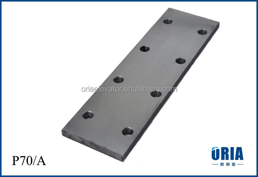 ORIA Elevator Parts fish plate for elevator guide rails (for T70/A)