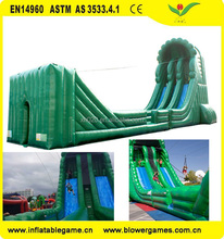 Amazing Inflatable Zip Line for Adults Inflatable Interactive ziplines game