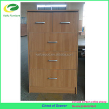 New product melamine particle board chest of drawers