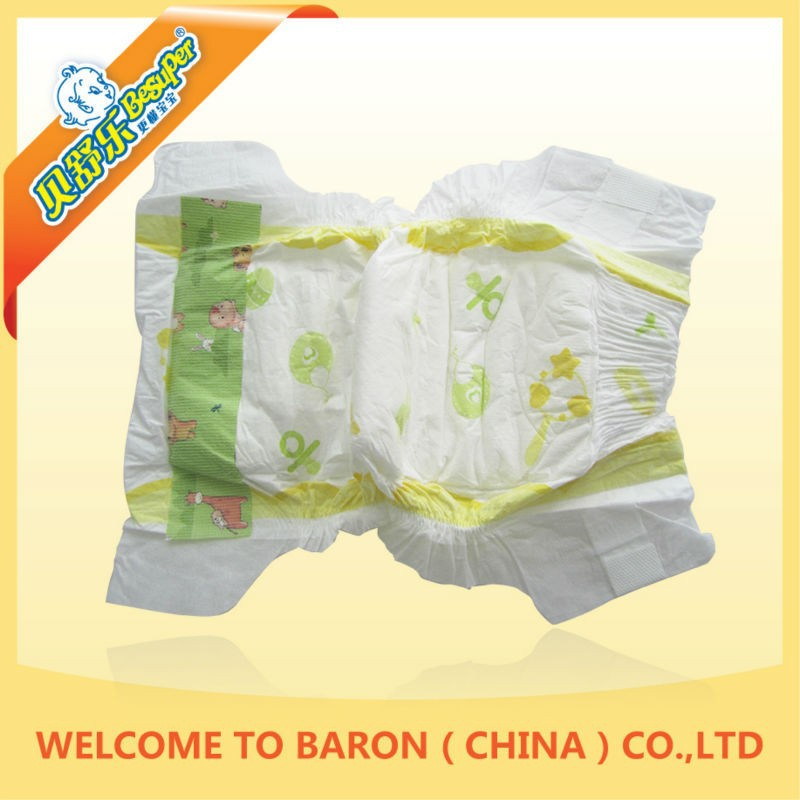 Competitive price health customized grade b baby diaper
