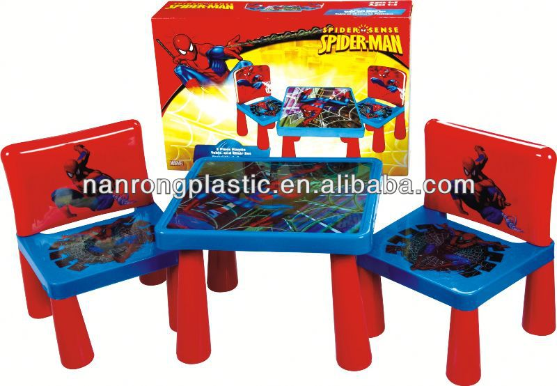 2013 New style wholesale high quality plastic children table and chair evenflo high chair covers