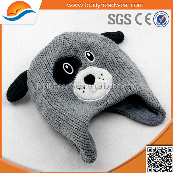 high quality kids funny animal winter hats