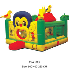 2017 Best Sale Crazy Fun Jumping Castle,Indoor Or Outdoor Commercial Grade Bouncy Castle,0.55mm Pvc Inflatable Bouncer For Sale