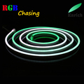 Different color chasing running led neon