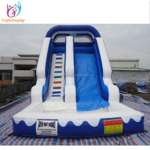 Commercial inflatable water slide, inflatable slide with small pool, inflatable bouncy slide for sales craigslit