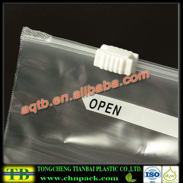 LDPE slider bag/ziplock bag/underwear packing bag with printing