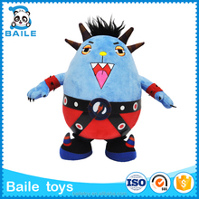 2016 special design custom plush baby toy no minimum