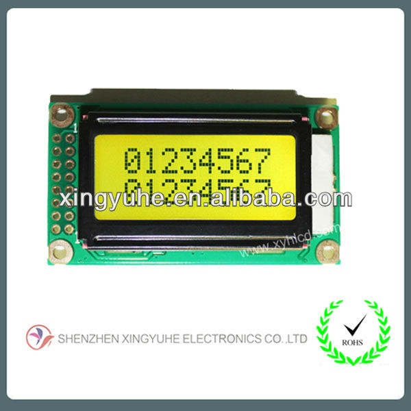 8x2 lcd display very small lcd screen