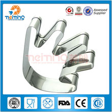 Stainless steel cake mould with different shape