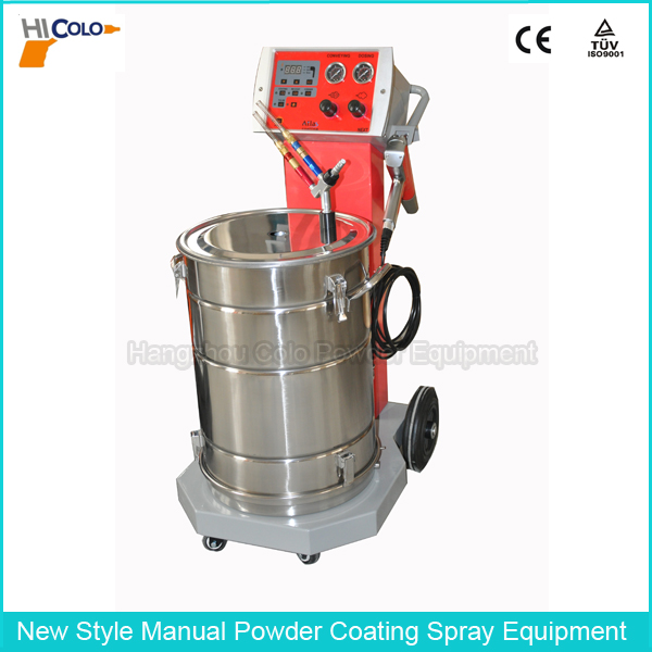 COLO-668 Pulse and Intelligent Hopper Feed Unit Powder Coating Equipment