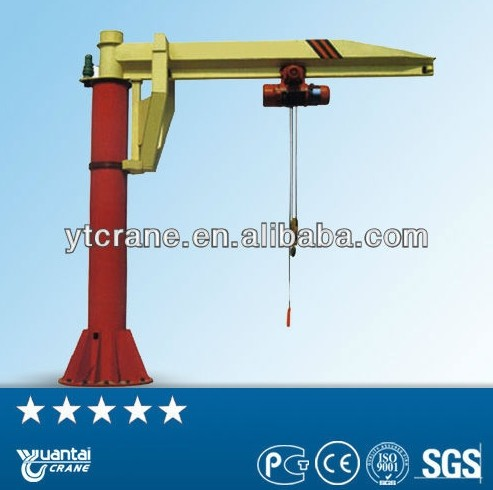 2014 hot BZ Type Small Portable Floor Mounted JIb Crane/column mounted jib crane/jimmy jib camera crane for sale