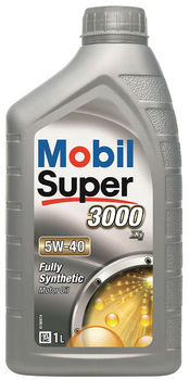 Mobil Super 3000 X1 5W-40, 1 Litre - Ultra Premium Synthetic Engine Oil