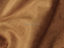 100% polyester microfiber woven suede