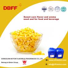 Sweet corn flavor and aroma used and for food and beverage