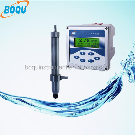 HCL NaOH H2SO4 NaCL HNO3 Meter SJG-3083 Professional Industrial Acid Alkali Concentration Meter