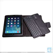 For ipad air leather case with keyboard,bluetooth keyboard case for ipad air 5