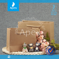 Shoe Box Tote Bag Brown Kraft Paper Box