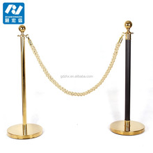 Pipe stanchion,barrier posts and ropes
