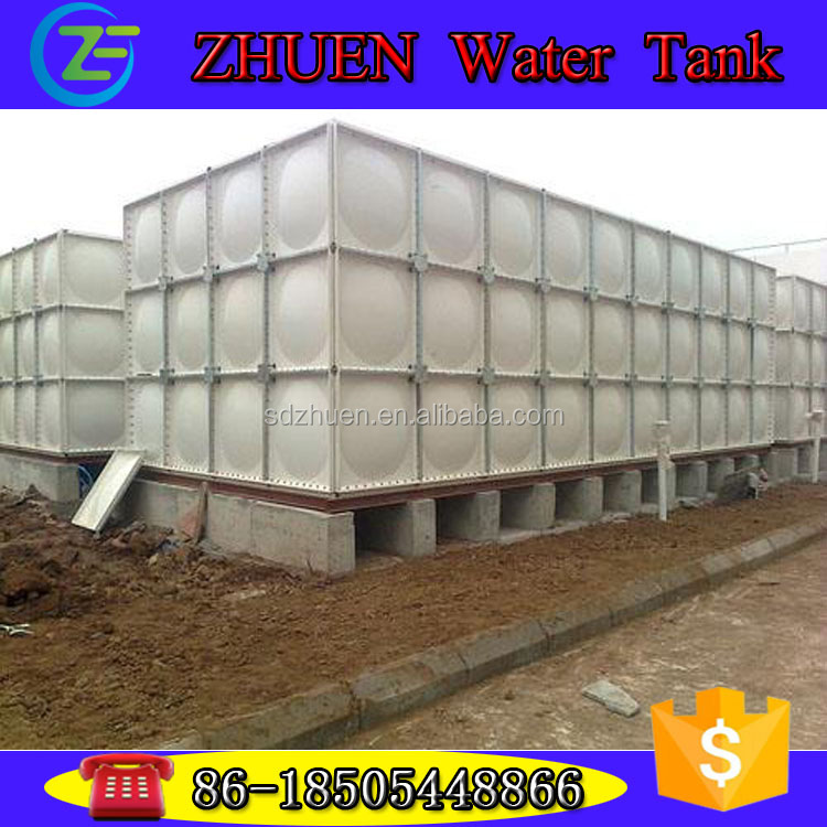 Factory sales FRP Sectional Bolted Water Tank Combined Assemble Water Tank Trade Assurance to you