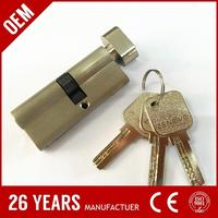 high class iron one side key one side knob master key made in China