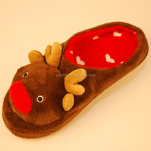 Men's Reindeer slippers Winter Animal indoor slippers