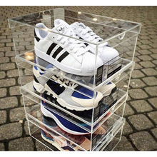 Stackable Acrylic Shoe Boxes Acrylic Storage Drawer Boxes For Shoe