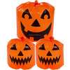 Disposable Jack-O-Lantern Halloween Trick or Treat Party Outdoor Decoration Lawn Bags