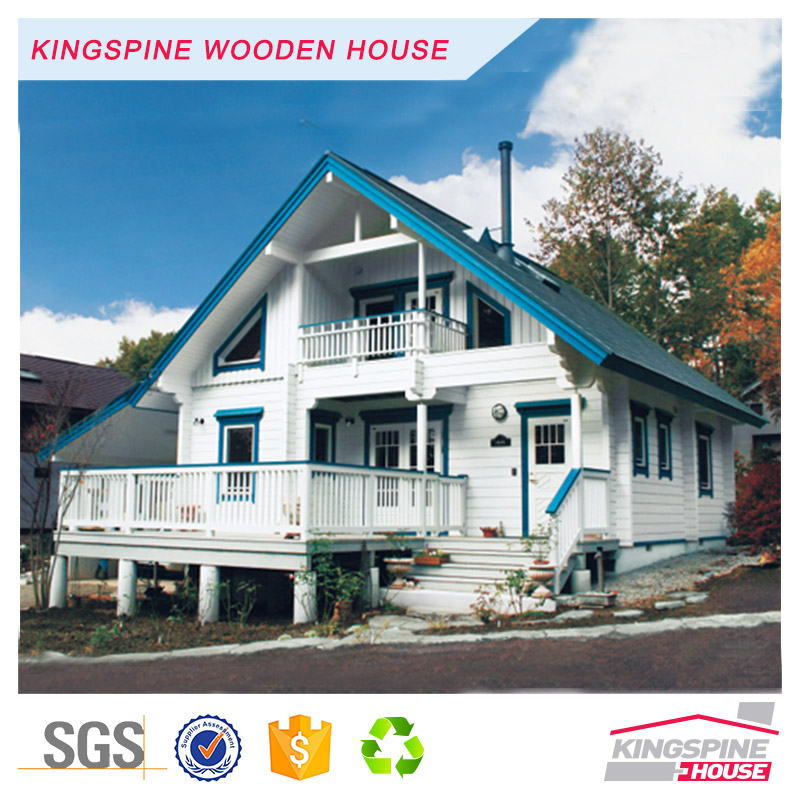 New Prefab 2-floor 3-bedroom Wooden House log home KPL-077