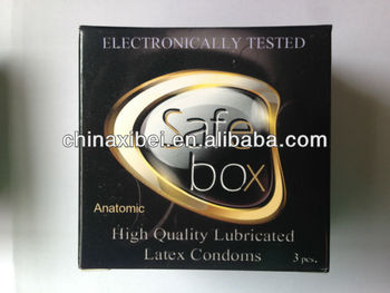 Hot sale Safe brand male condom of High quality with CE, ISO