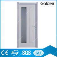 Goldea wooden interior mdf laminated finished composite door